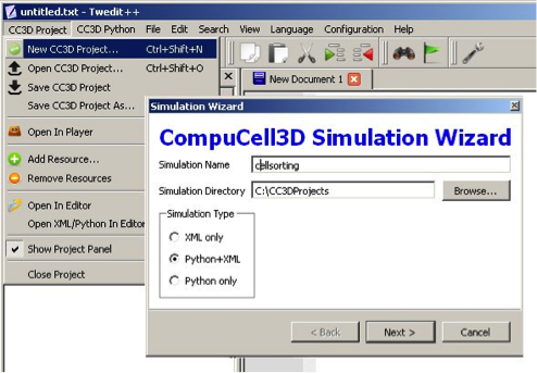 How to use Python in CompuCell3D — python_scripting_manual